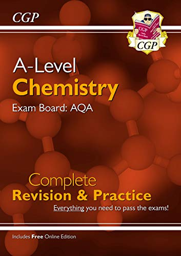 New A-Level Chemistry for 2018: AQA Year 1 & 2 Complete Revision & Practice with Online Edition (CGP A-Level Chemistry) from Coordination Group Publications Ltd (CGP)
