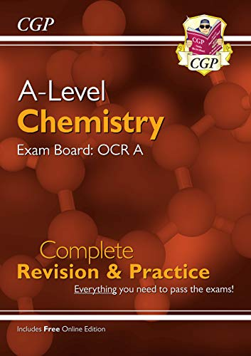 New A-Level Chemistry: OCR A Year 1 & 2 Complete Revision & Practice with Online Edition (CGP A-Level Chemistry) from Coordination Group Publications Ltd (CGP)