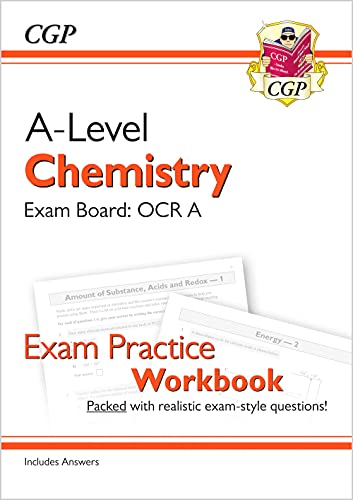 New A-Level Chemistry: OCR A Year 1 & 2 Exam Practice Workbook - includes Answers (CGP A-Level Chemistry) from Coordination Group Publications Ltd (CGP)