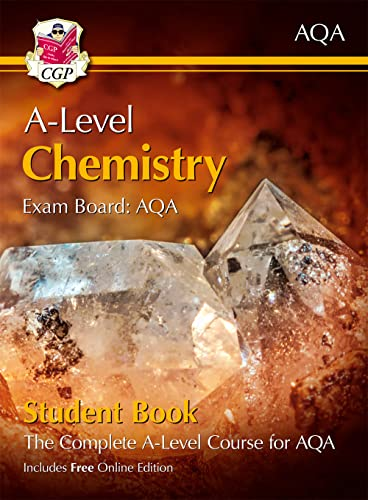New A-Level Chemistry for AQA: Year 1 & 2 Student Book with Online Edition (CGP A-Level Chemistry) from Coordination Group Publications Ltd (CGP)