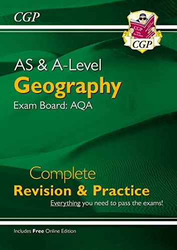 New A-Level Geography: AQA Year 1 & 2 Complete Revision & Practice (CGP A-Level Geography) from Coordination Group Publications Ltd (CGP)