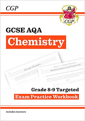 New GCSE Chemistry AQA Grade 8-9 Targeted Exam Practice Workbook (includes Answers) (CGP GCSE Chemistry 9-1 Revision) from Coordination Group Publications Ltd (CGP)
