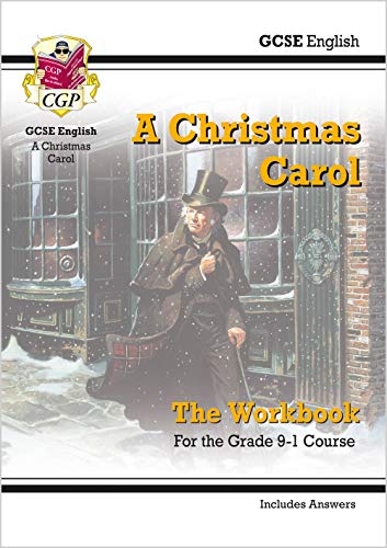 New Grade 9-1 GCSE English - A Christmas Carol Workbook (includes Answers) (CGP GCSE English 9-1 Revision) from Coordination Group Publications Ltd (CGP)