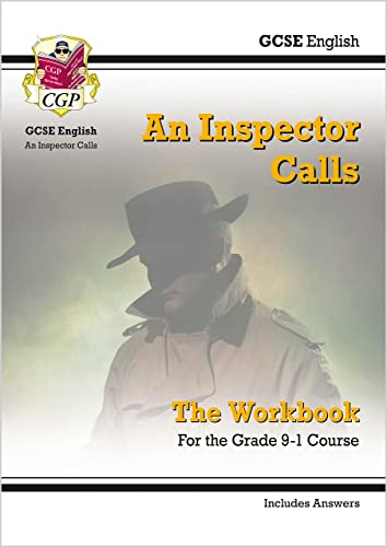 New Grade 9-1 GCSE English - An Inspector Calls Workbook (includes Answers) (CGP GCSE English 9-1 Revision) from Coordination Group Publications Ltd (CGP)