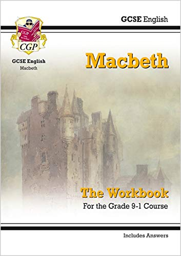 New Grade 9-1 GCSE English Shakespeare - Macbeth Workbook (includes Answers) (CGP GCSE English 9-1 Revision) from Coordination Group Publications Ltd (CGP)