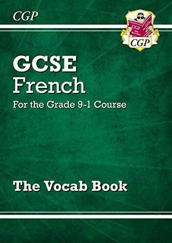 New GCSE French Vocab Book - for the Grade 9-1 Course (CGP GCSE French 9-1 Revision) from Coordination Group Publications Ltd (CGP)