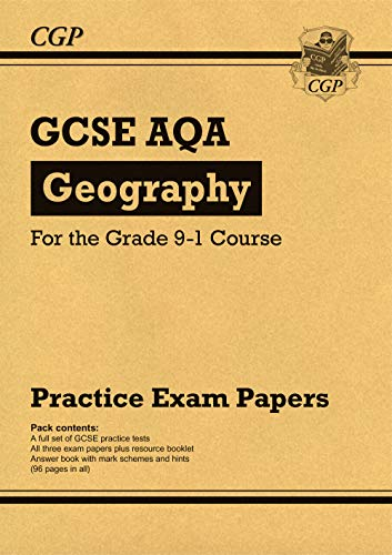 New GCSE Geography AQA Practice Papers - for the Grade 9-1 Course (CGP GCSE Geography 9-1 Revision) from Coordination Group Publications Ltd (CGP)