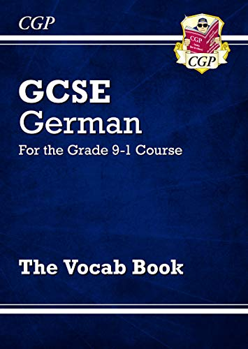 New GCSE German Vocab Book - for the Grade 9-1 Course (CGP GCSE German 9-1 Revision) from Coordination Group Publications Ltd (CGP)