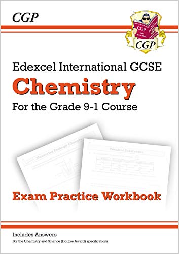 New Grade 9-1 Edexcel International GCSE Chemistry: Exam Practice Workbook (includes Answers) (CGP IGCSE 9-1 Revision) from Coordination Group Publications Ltd (CGP)