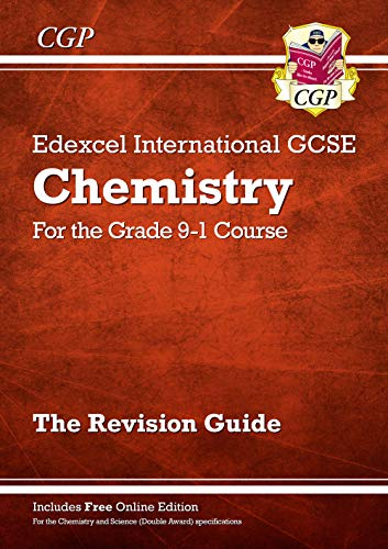 New Grade 9-1 Edexcel International GCSE Chemistry: Revision Guide with Online Edition (CGP IGCSE 9-1 Revision) from Coordination Group Publications Ltd (CGP)