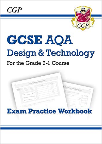 New Grade 9-1 GCSE Design & Technology AQA Exam Practice Workbook (CGP GCSE D&T 9-1 Revision) from Coordination Group Publications Ltd (CGP)