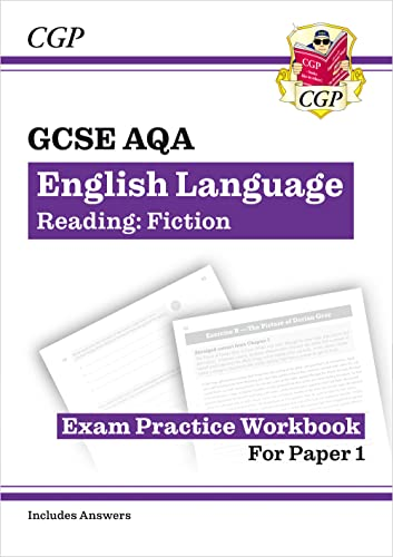 New Grade 9-1 GCSE English Language AQA Reading Skills Workbook: Fiction (includes Answers) (CGP GCSE English 9-1 Revision) from Coordination Group Publications Ltd (CGP)