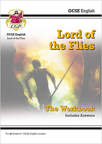New Grade 9-1 GCSE English - Lord of the Flies Workbook (includes Answers) (CGP GCSE English 9-1 Revision) from Coordination Group Publications Ltd (CGP)