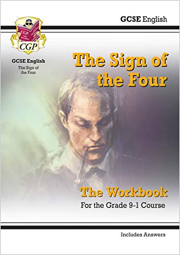 New Grade 9-1 GCSE English - The Sign of the Four Workbook (includes Answers) (CGP GCSE English 9-1 Revision) from Coordination Group Publications Ltd (CGP)