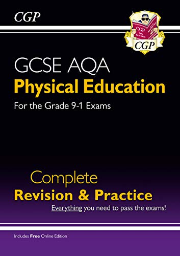 New Grade 9-1 GCSE Physical Education AQA Complete Revision & Practice (with Online Edition) (CGP GCSE PE 9-1 Revision) from Coordination Group Publications Ltd (CGP)