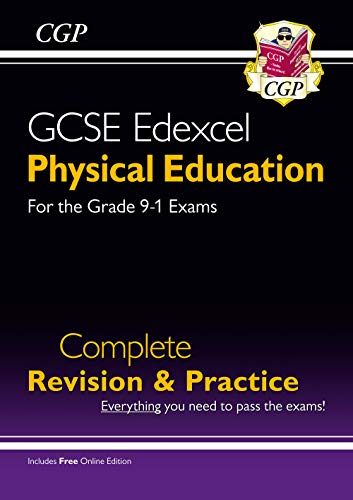 New Grade 9-1 GCSE Physical Education Edexcel Complete Revision & Practice (with Online Edition) (CGP GCSE PE 9-1 Revision) from Coordination Group Publications Ltd (CGP)