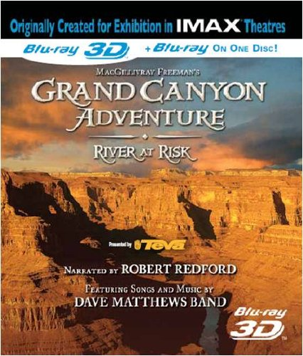 IMAX - Grand Canyon Adventures-River At Risk 3D (Blu-ray 3D) from Image Entertainment