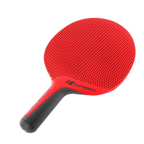 Cornilleau Unisex Soft Eco Design Table Tennis Bat, Red, One Size from Cornilleau