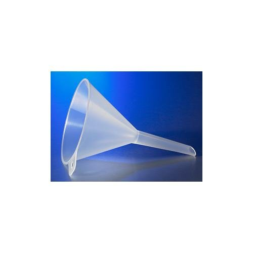Corning 6120P-150 Polypropylene Plain Reusable Squibb Seperatory Funnel with Short Stem, 150mm Diameter (Case of 12) from Corning