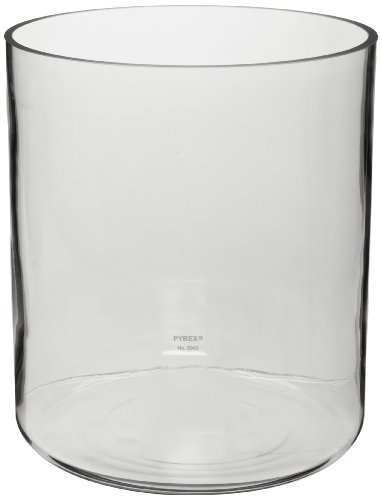 Corning Pyrex 6942-17L Borosilicate Glass 17L Plain Cylindrical Jar from Corning