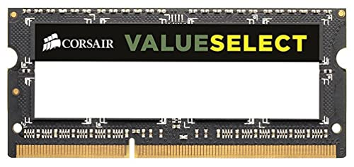 Corsair CMSO8GX3M1A1600C11 Value Select 8GB (1x8GB) DDR3 1600 Mhz CL11 Mainstream Notebook Memory Module -Green from Corsair