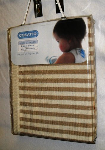 Cosatto Seaside Knitted Cable Blanket from Cosatto