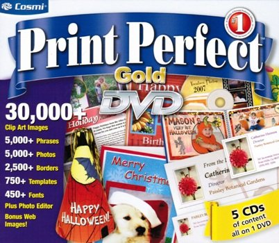 Print Perfect Gold from Cosmi
