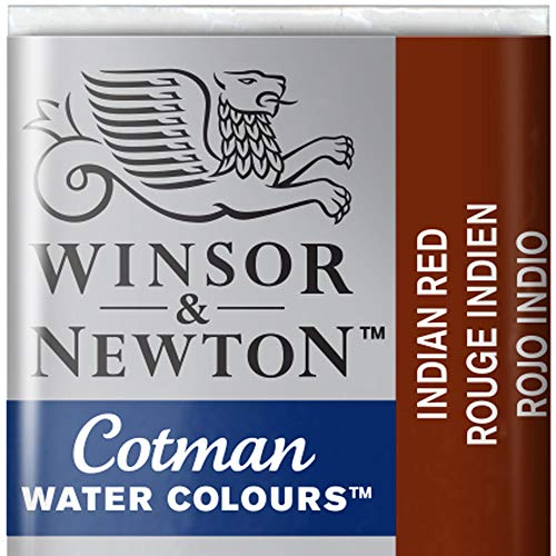 Winsor & Newton Cotman Watercolour Paint Half Pan – Indian Red 317 from Winsor & Newton
