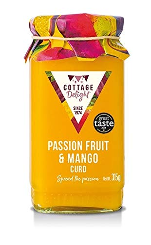 Cottage Delight Passion Fruit and Mango Curd 315g from Cottage Delight