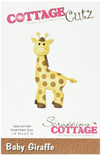 CottageCutz Metal Die-Baby Giraffe 1.4-inch x 2.3-inch from CottageCutz