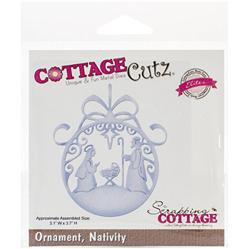 CottageCutz Nativity Ornament Elites Die from CottageCutz