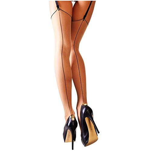 Cottelli Collection Stockings with Seam Skin, Number 4 from Cottelli Collection