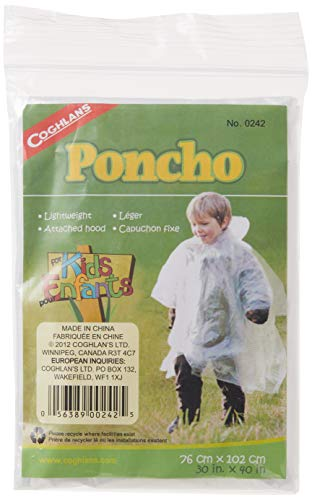 Coughlan's Kids Poncho - Transparent from Coughlan's