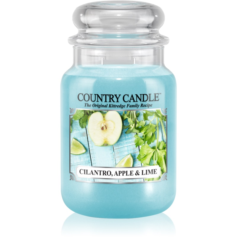 Country Candle Cilantro, Apple & Lime scented candle 652 g from Country Candle