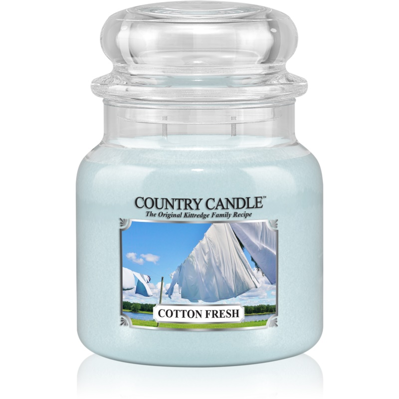 Country Candle Cotton Fresh scented candle 453 g from Country Candle