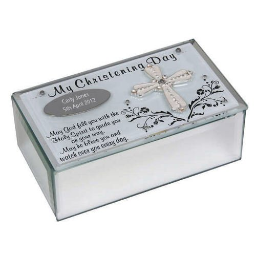Personalised My Christening Day Keepsake Box Christening Engraved from County Engraving