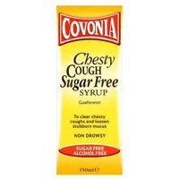 Covonia Chesty Cough Sugar Free Syrup Non Drowsy 150ml from Covonia