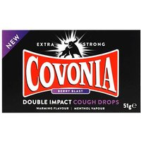 Covonia Double Impact Berry Blast Cough Lozenges 51g from Covonia