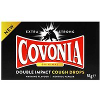 Covonia Double Impact Strong Original Cough Lozenges 51g from Covonia