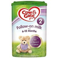 Cow and Gate 2 Follow-On Milk (From Six Months) 900g from Cow and Gate