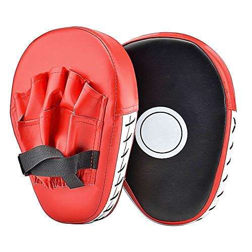 Cozyswan Punch Mitts, Focus Mitts PU Leather Boxing Pads Target Mitt Glove for Focus Training of Karate from Cozyswan
