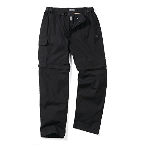 Craghoppers Kiwi Convertible Mens Trouser - Size: 32, Colour: Black, Lenght: S from Craghoppers