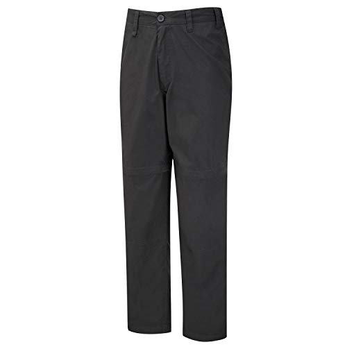 Craghoppers Men's Classic Kiwi Zip Off Convertible Walking Trousers - Black Pepper, Short-32 inch from Craghoppers