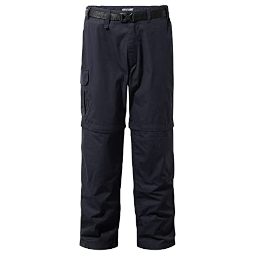 Craghoppers Men's Kiwi Conv Trs Trousers, DK Navy, W34 L33 from Craghoppers