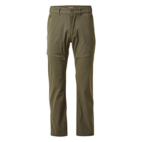 a5bde603 Craghoppers Men's Kiwi Pro Trousers, Dark Khaki, 36 Regular from Craghoppers