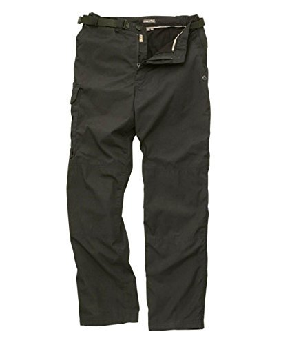 Craghoppers Mens Kiwi Winter Lined Trouser - CMJ245 - Black Pepper - 38-Short from Craghoppers