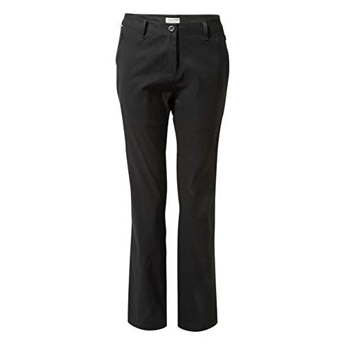 Craghoppers Women's Kiwi Pro Trousers, Black, 12 Long from Craghoppers