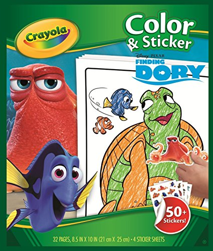 Crayola 04-2007 Dory Colour N Sticker Book from Crayola