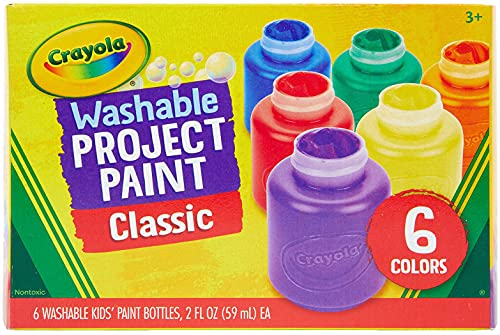 Crayola Washable Kids Paint, Pack of 6 from CRAYOLA