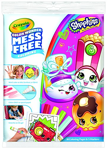 Crayola Shopkins Colour Wonder from Crayola
